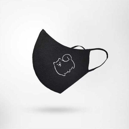 Boci cica ninja szájmaszk