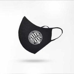 Fradi címer (fehér) ninja szájmaszk